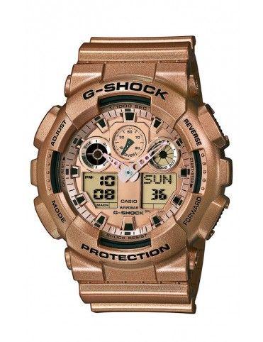 RELOJ CASIO G-SHOCK HOMBRE GA-100GD-9AER