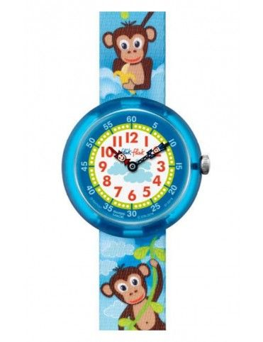 Reloj Flik Flak Monkey Business niño FBNP037