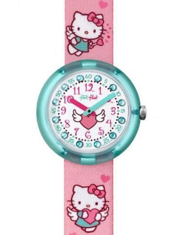 Reloj Flik Flak Hello Kitty Cupido FLNP020