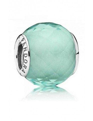 Charm Pandora plata Pequeño facetado verde 791499SGQ