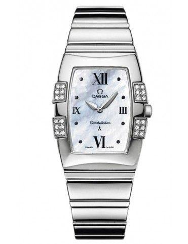 Reloj Omega mujer Constellation Quadrella Quartz O15867000