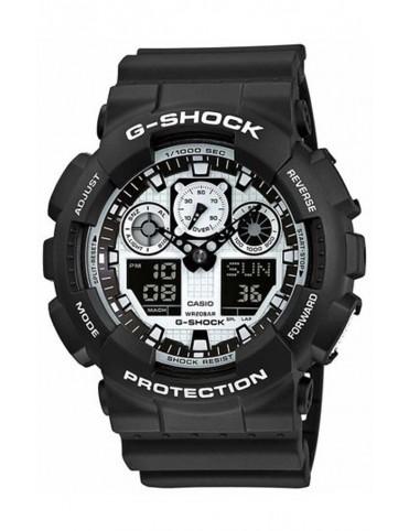 Reloj Casio G-Shock Cronógrafo hombre GA-100BW-1AER