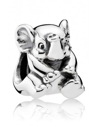 Charm Pandora plata Elefante de la suerte 791902
