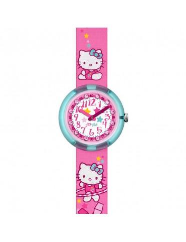 Reloj Flik Flak Niña Hello Kitty Gym FLNP025