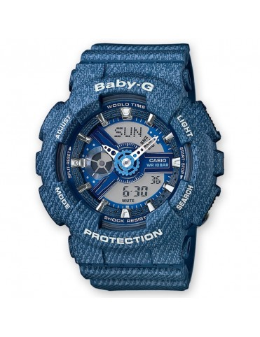 Reloj Casio Cronógrafo Baby-G Mujer BA-110DC-2A2ER