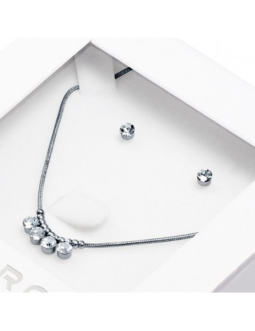 Pack Collar y Pendientes Viceroy acero Mujer 3204K11000