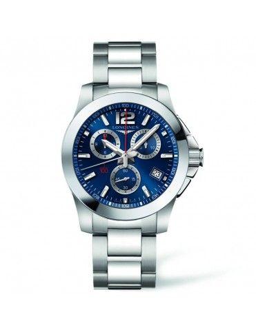 Reloj Longines Conquest Hombre cronógrafo L37004966