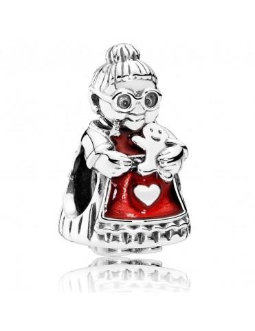 Charm Pandora Plata Mrs Santa Claus 792005EN07