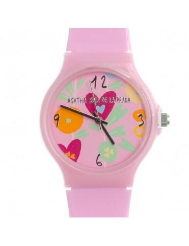 Reloj Agatha Ruiz de la Prada Mujer Pink Flower Big Watch AGR171
