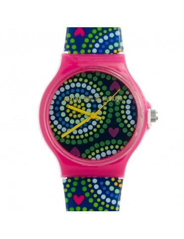 Reloj Agatha Ruiz de la Prada Mujer Blue Circules Big Watch AGR175