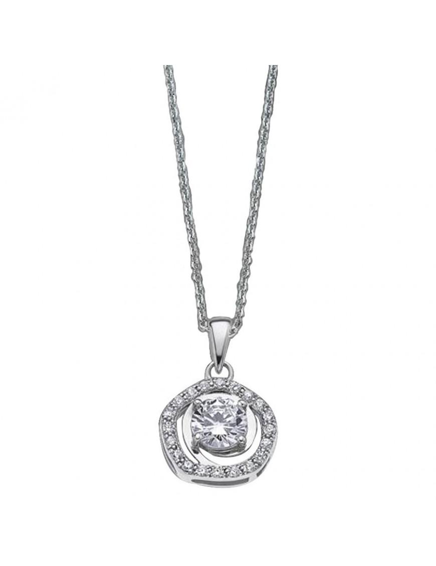 Collar Lotus Silver Plata Mujer LP1607-1/1