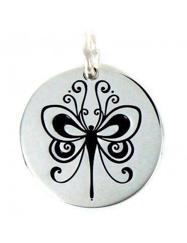 Colgante Plata Mujer Mariposa 9094992