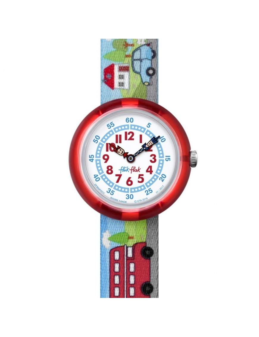 Reloj Flik Flak Niño Highway to UK FBNP077