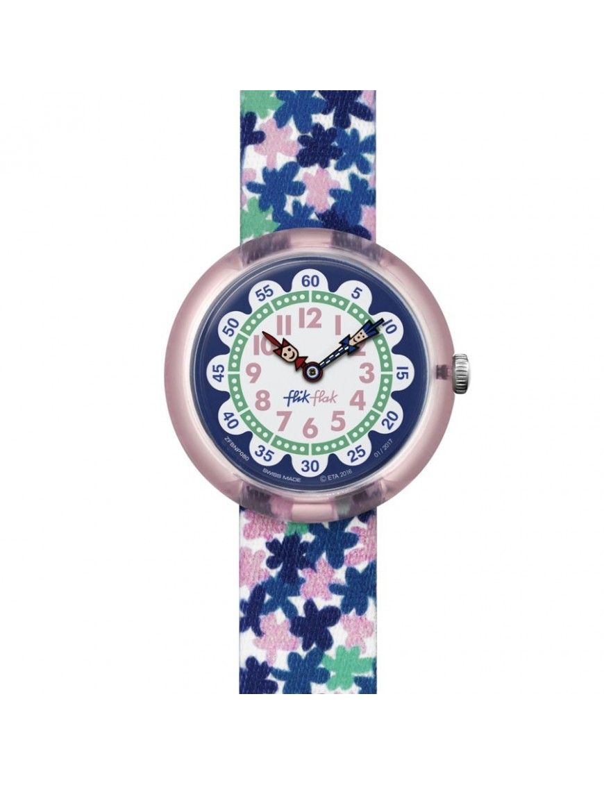Reloj Flik Flak Niña London Flower FBNP080