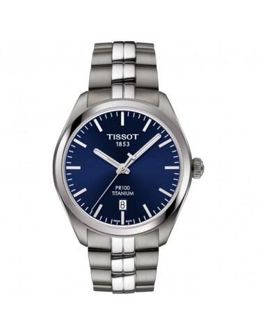 Reloj Tissot Hombre PR 100 Titanium T1014104404100