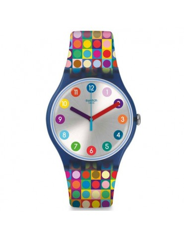 Reloj Swatch Mujer Rounds and Sqaures SUON122