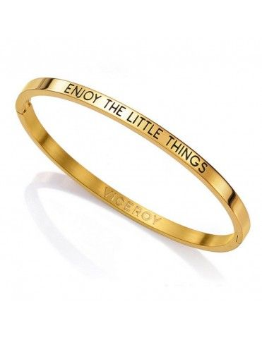 Pulsera Viceroy Acero Mujer Enjoy the little things 90051P01012
