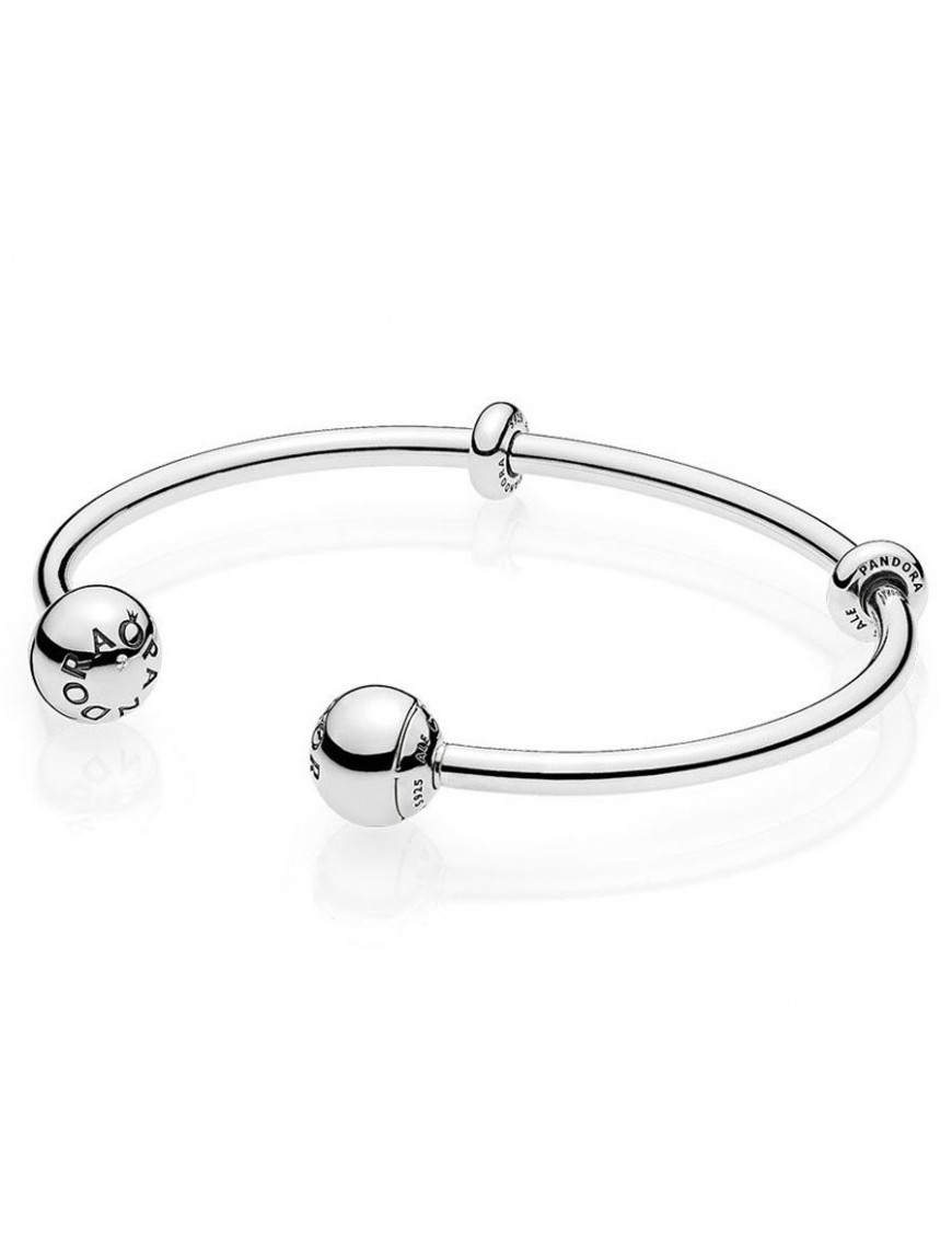 Pulsera Pandora Plata Open Bangle 596477-2