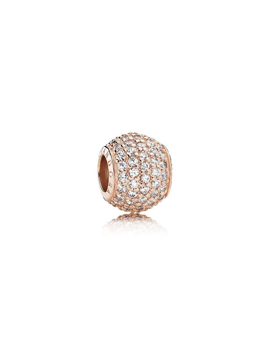 Charm Pandora plata Rose circonita 781051CZ