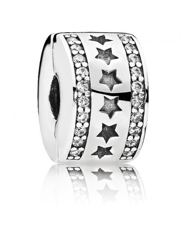 Charm Clip Pandora Plata Estrellas 796381CZ