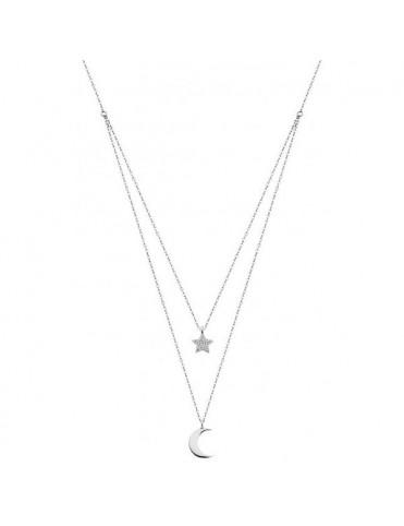 Collar Lotus Silver Plata Mujer LP1680-1/4
