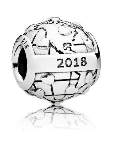 Charm Pandora Plata 796602D Club 2018