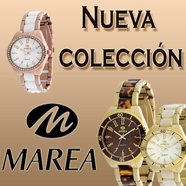 Nueva colección de relojes Marea