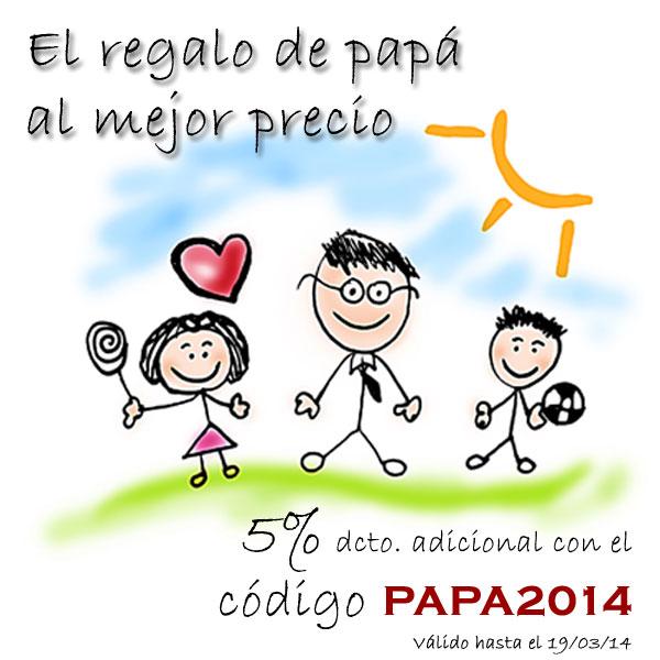 Descuento promocional día del Padre