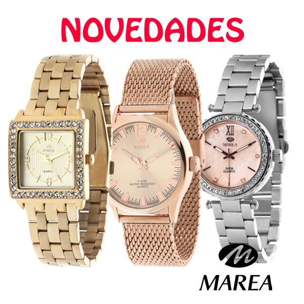 Marea presenta sus nuevos relojes