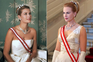 Grace Kelly y Nicole Kidman en la película qre le da vida