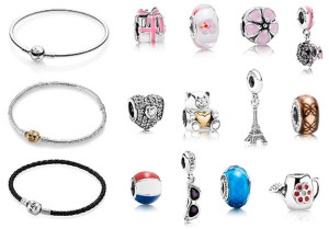 pandora charms iniciales