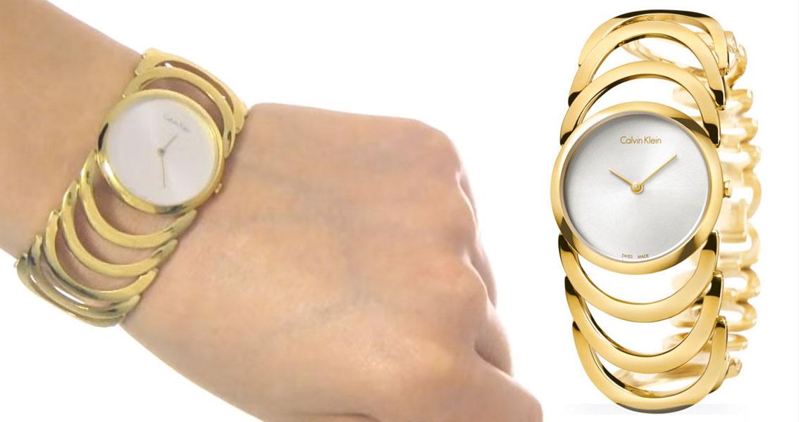74046da6a0b1 K4G23526. Sofisticado reloj Calvin Klein para mujer K4G23526