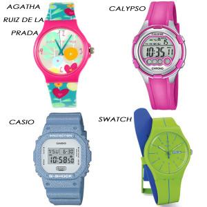 Relojes de plástico