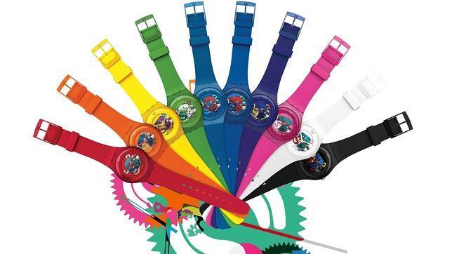 relojes de colores