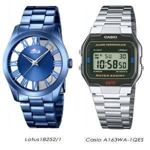 6684fc3762ea Reloj analógico y digital de Lotus y Casio