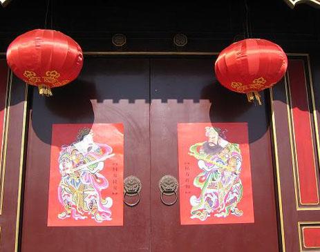 guardianes de las puertas