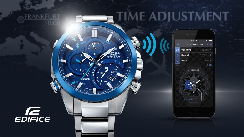 cefd5af274a4 Reloj casio edifice bluetooth smart access