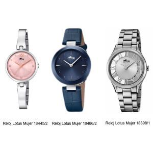 Relojes Lotus Mujer