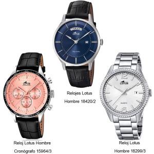 1260edb3c3b9 Relojes Lotus Hombre