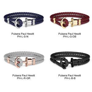 Pulsera-Paul-Hewitt-acero-cuero