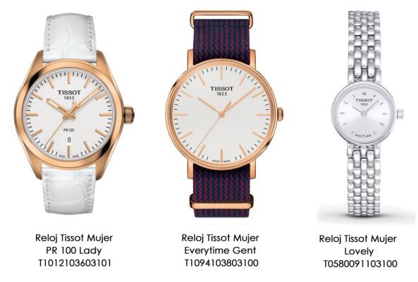Relojes Tissot Mujer