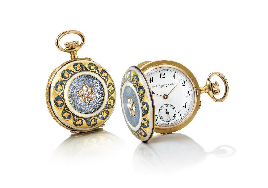 reloj colgante Tissot imeprio ruso
