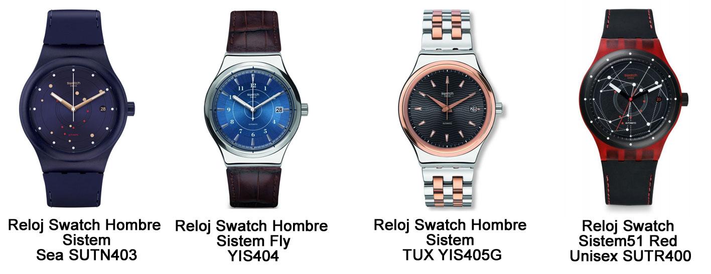 cdc7634f40e3 Relojes Swatch automáticos