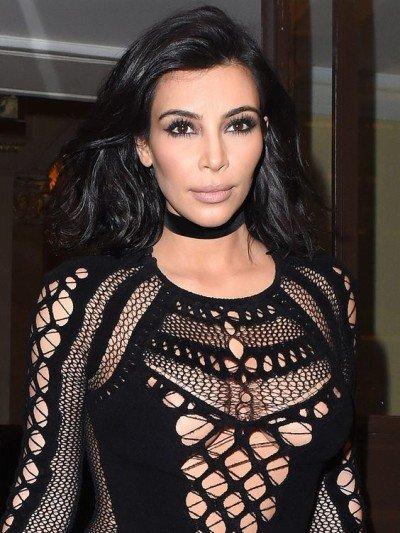 kim kardashian chocker