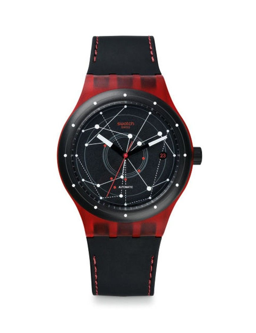 RELOJ SWATCH SISTEM51 RED UNISEX SUTR400