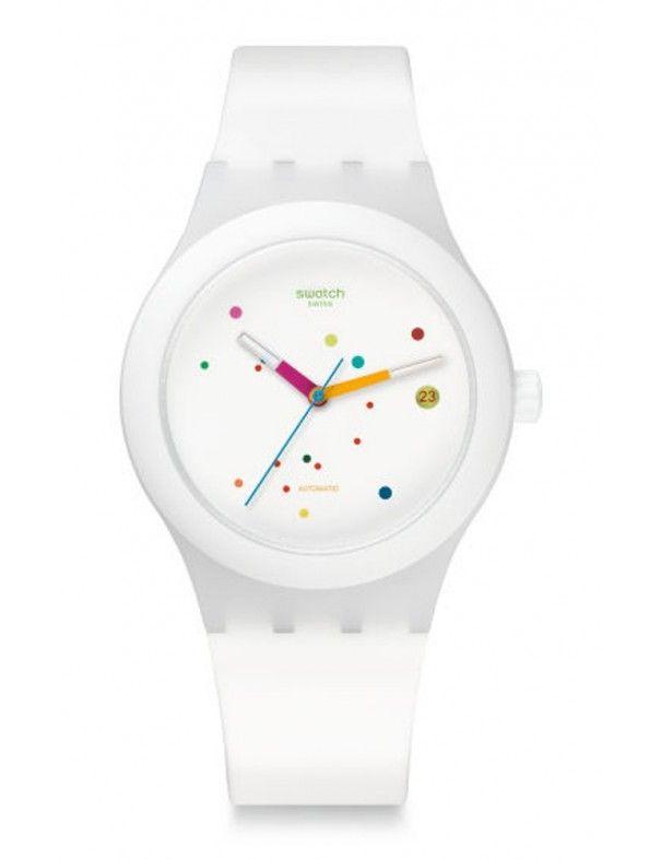 Reloj Swatch Sistem51 White unisex SUTW400