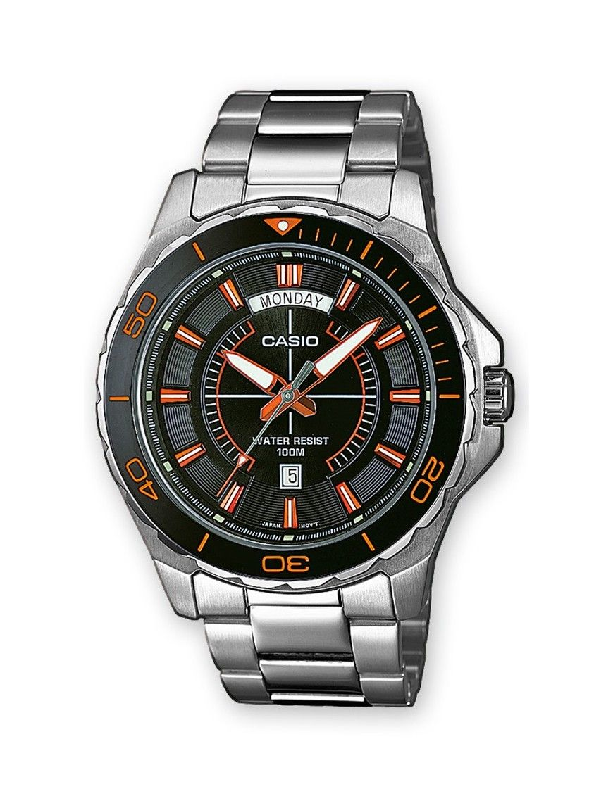 RELOJ CASIO COLLECTION HOMBRE MTD-1076D-1A4VEF