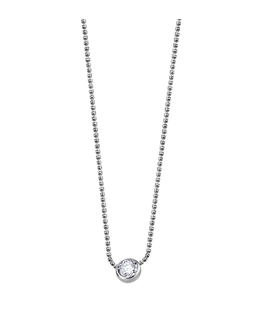Collar Lotus Silver Mujer LP1272-1/1