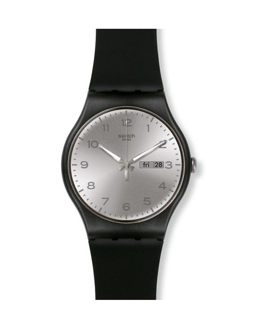 Reloj Swatch Silver Friend unisex SUOB717