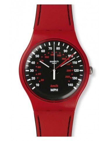 Reloj Swatch Red Brake hombre SUOR104